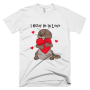 IOB in Love Mens Tee White front_mockup