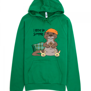 american apparel__kelly green_flat front_mockup