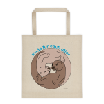 Made For Each Otter Cotton Canvas Tote