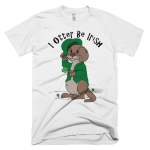 I Otter Be Irish Men's T-Shirt