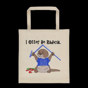 I Otter Be Radical Tote bag