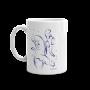 Otters Swimming Mug