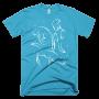 Otters Swimming Men's T-Shirt