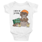 I Otter Be Sleeping Infant Onesie