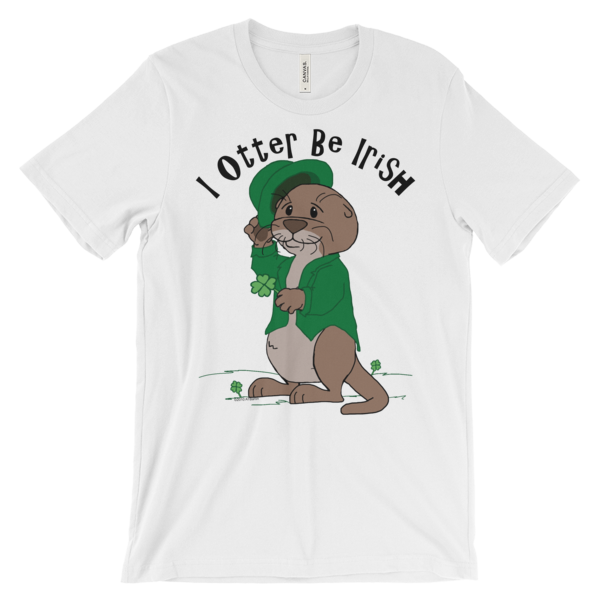 I Otter Be Irish White T-shirt