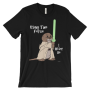 I Otter Be Using the Force Black T-shirt