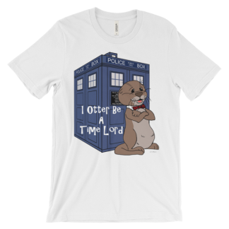 I Otter Be A Time Lord White T-shirt