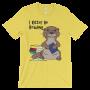 I Otter Be Reading Yellow T-shirt