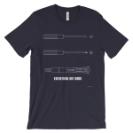Sonic Screwdriver Navy T-shirt