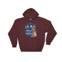 I Otter Be A Time Lord Maroon Hoodie