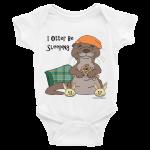 I Otter Be Sleeping White Onesie