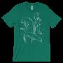 Otters Swimming Kelly T-shirt