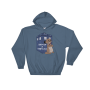 I Otter Be A Time Lord Indigo Blue Hoodie