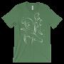 Otters Swimming Leaf T-shirt