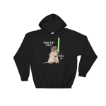 I Otter Be Using The Force Black Hoodie