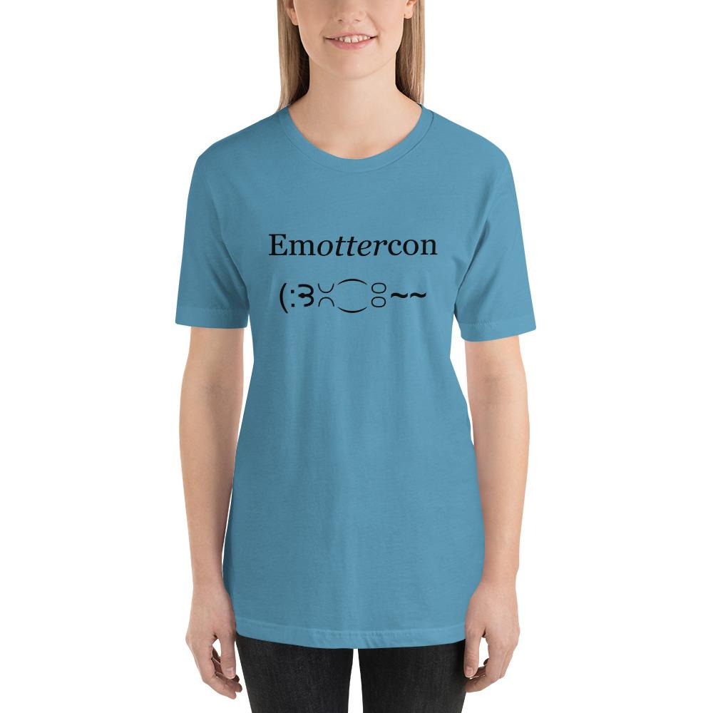 Emottercon2-Unisex T-Shirt_mockup_Front_Womens_Ocean-Blue