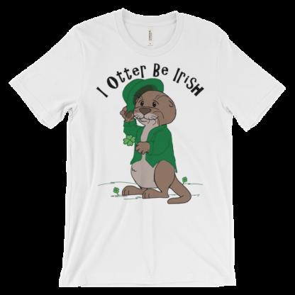 I Otter Be Irish White T-shirt