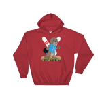 I Otter Be Bowling Red Hoodie
