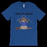 I Otter Be Radical Royal T-shirt