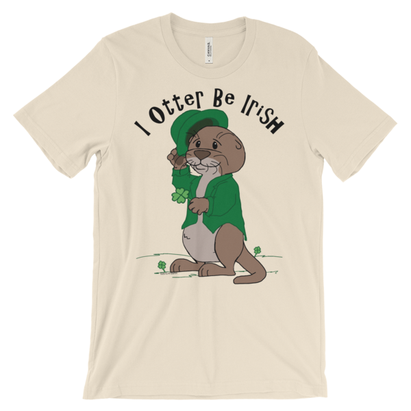 I Otter Be Irish Soft Cream T-shirt