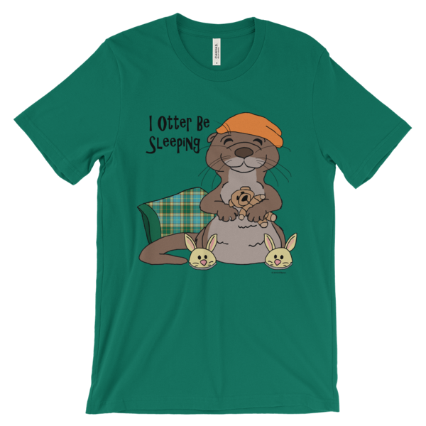 I Otter Be Sleeping Kelly T-shirt