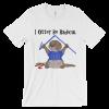 I Otter Be Radical White T-shirt