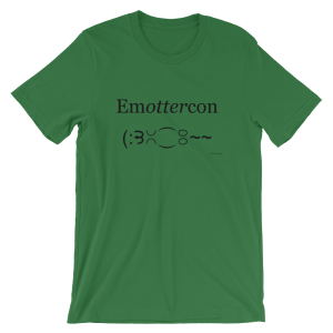 Emottercon Leaf T-shirt