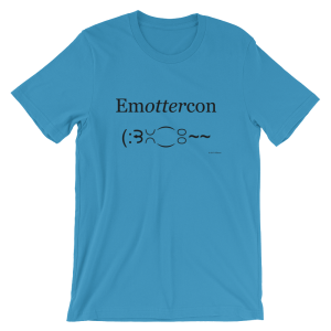 Emottercon Ocean Blue T-shirt