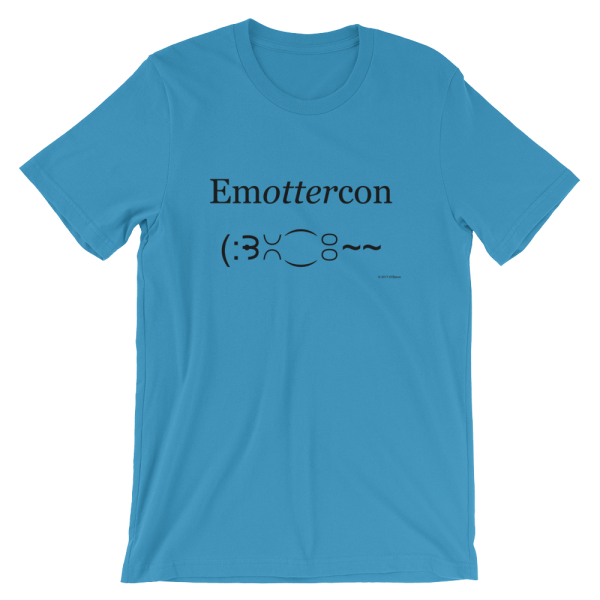 EmOTTERcon T-Shirt In Ocean Blue