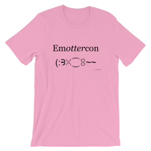 Emottercon Pink T-shirt