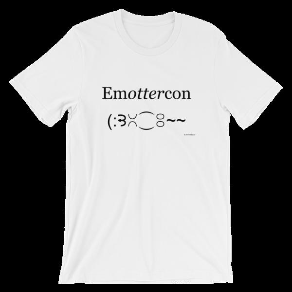 Emottercon White T-shirt