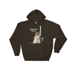 I Otter Be Using The Force Dark Chocolate Hoodie