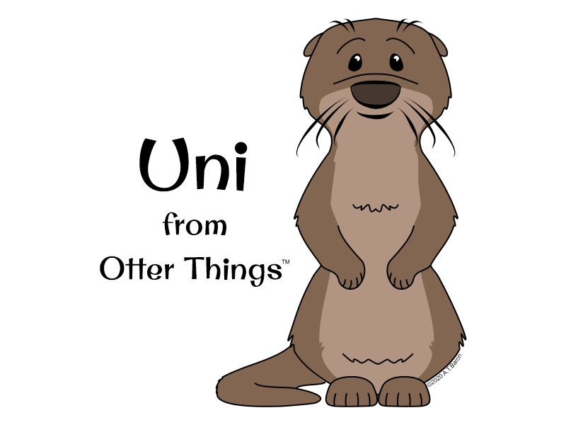 Uni - Otter Things Mascot ©2020